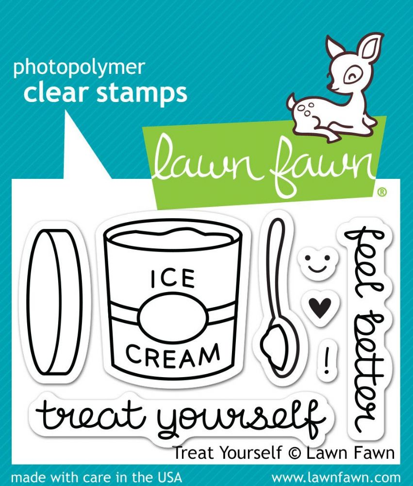 lf0897 s treat yourself clear stamps by lawn fawn